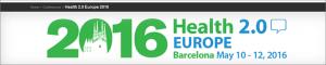 Health 2.0 Europe 2016