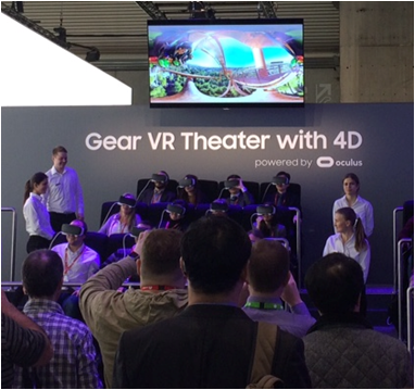 Gear VR Theater with 4D