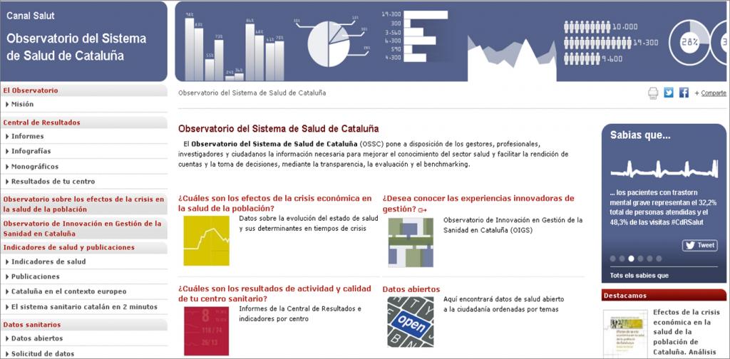 Observatorio Sistema Salud Cataluña
