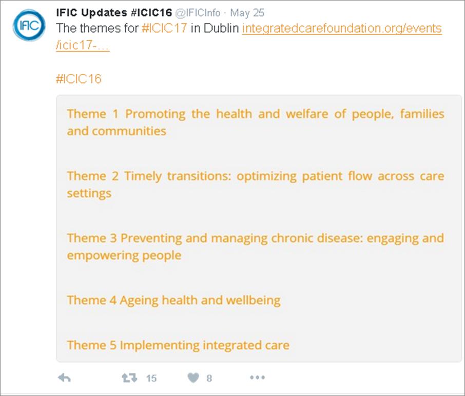 ICIC #ICIC17 Dublin