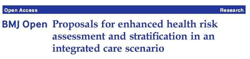 Proposals enhanced health risk